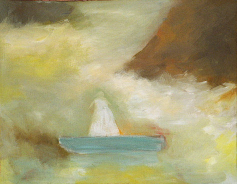 jane cather boat painting